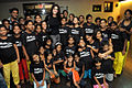 Tulip Joshi interacts with young girls at Arts in Motion's 'Dance with Joy' event 01.jpg