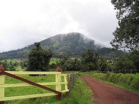 Le Turrialba en septembre 2005.