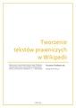 Tworzenie tekstów prawniczych w Wikipedii. Szymon Grabarczuk.pdf