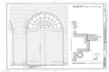 Typical First Floor Bay, Fanlight Molding Profile - Mare Island Naval Shipyard, Structural Shop, Near State Highway 37, Vallejo, Solano County, CA HAER CAL,48-MARI,1-F- (sheet 12 of 14).png