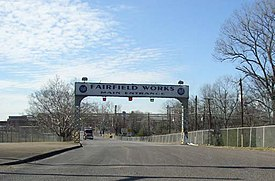 U. S. Steel Fairfield Works in Fairfield, Alabama.jpg