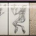 U2 Museumsquartier Kunst Bahnsteig 1 Zeichnung 08 Die Bewusstwerdung.jpg