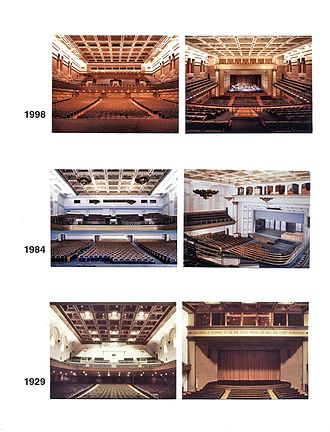 Royce Hall - Auditorium: 1929, 1984 and 1998