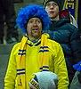 UEFA EURO qualifiers Sweden vs Romaina 20190323 Fan 2.jpg