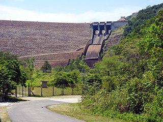 Samanala Dam Dam in Balangoda
