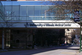 Illinois Medical District - University of Illinois Medical Center is part of the IMD