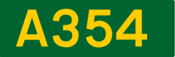 A354 road shield