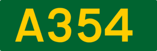 A354 road road in England