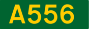 A556 road shield