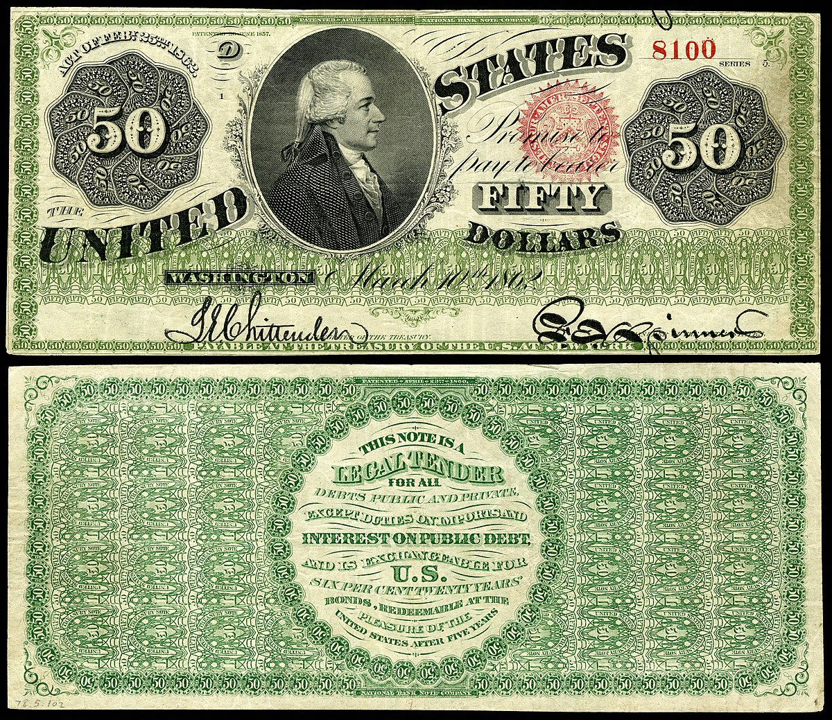 United States fifty-dollar bill - Wikipedia