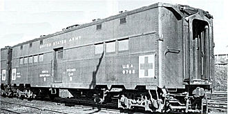 Troop sleeper - Image: USA Troop Kitchen Car No 8762