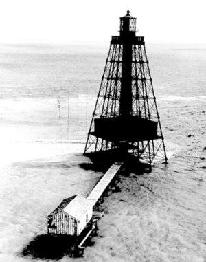 Sand Key Light - Image: USCG Sandkey