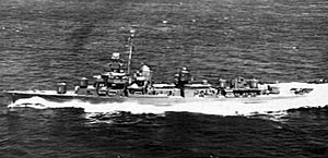 USS Beale (DD-471) - Beale in February 1944.