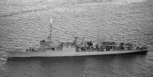 USS Childs (AVD-1) underway, circa in late 1944 (19-N-74863).jpg