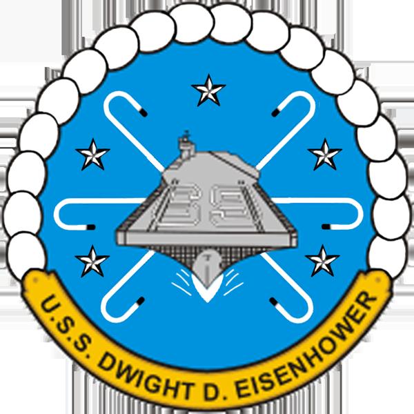 USS Dwight D Eisenhower CVN-69 Crest