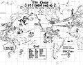 USS Knight (DD-633) World War II war cruises map (UA 571.24).jpg