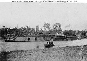 USS Pittsburgh (1861) - USS Pittsburgh