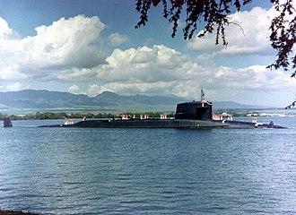 USS Sam Houston (SSBN-609) - Image: USS Sam Houston SSN 609