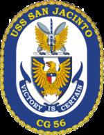 USS San Jacinto CG-56 Crest