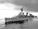 USS Stembel (DD-644) underway in 1957.JPG