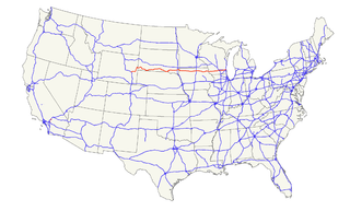 U.S. Route 18 Highway in the United States