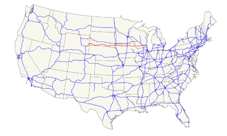 U.S. Route 18 - Image: US 18 map