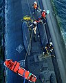 US Navy 011107-N-3889M-004 Submarine personnel transfer exercise.jpg