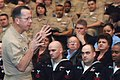US Navy 070222-N-3917G-088 Chief of Naval Operations (CNO) Adm. Mike Mullen addresses the Sailors of Navy Information Operations Command (NIOC) Georgia during an all hands call.jpg