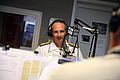 US Navy 080826-N-3271W-007 Admiral Jonathan W. Greenert conducts an interview on the Wills and Snyder Morning Show.jpg