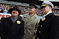 US Navy 081206-N-5549O-448 Secretary of the Navy the Honorable Dr. Donald C. Winter, Gen. James T. Conway, and Chief of Naval Operations Adm. Gary Roughead attend the 109th Army-Navy college football game.jpg