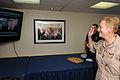 US Navy 110731-N-XE109-002 Former President George H.W. Bush promotes Rear Adm. Nora W. Tyson.jpg