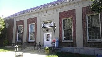 United States Post Office (Bronxville, New York) - US Post Office-Bronxville, September 2012