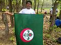 Uday With Scouts Flag.jpg