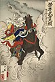 Uesugi Kenshin Nyudo Terutora Riding into Battle LACMA M.2007.152.65.jpg