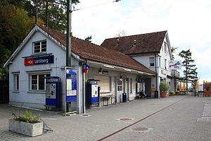 Uetliberg railway line - Station buildings at Uetliberg