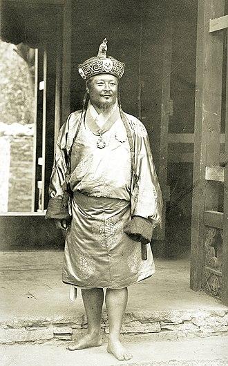Ugyen Wangchuck - Image: Ugyen Wangchuck, 1905