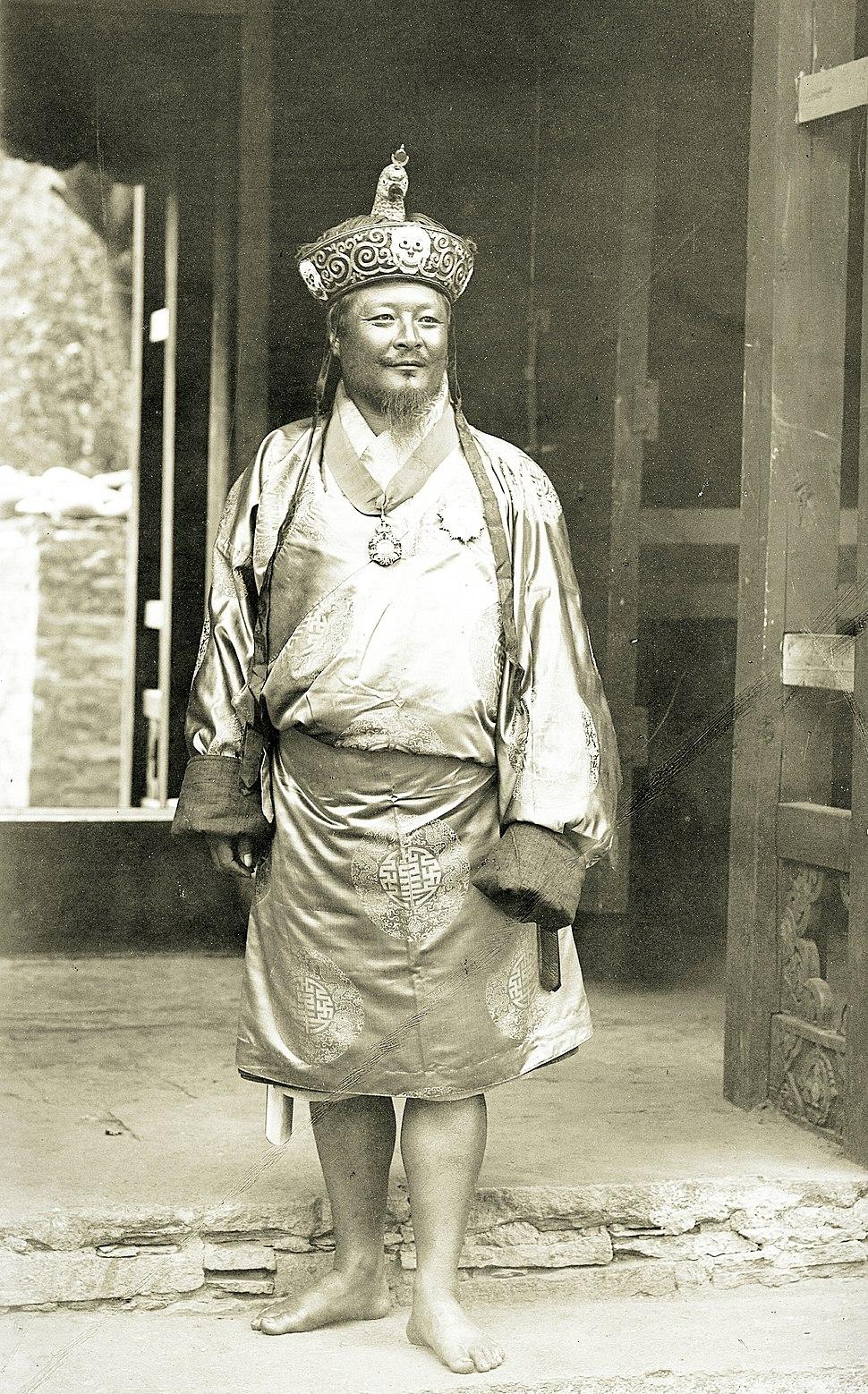 Ugyen Wangchuck, 1905