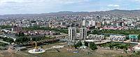 ザイサン・トルゴイから眺めるウランバートルの街並み