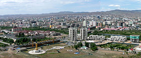 View of Ulan Bator