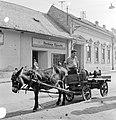 Ulica Hlavná (Fő utca) az ulica Rázusova torkolatával szemben. Fortepan 53929.jpg