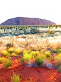 Uluru and the vibrant colors of the red centre.jpg