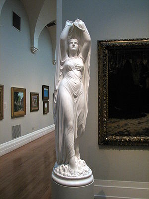 Chauncey Ives - Undine Rising from the Waters