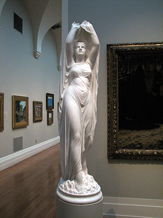 Elemental - Undine Rising From the Waters, by Chauncey Bradley Ives