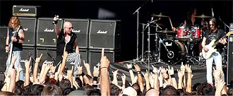 Unisonic (band) - Unisonic live at the Rockwave Festival in 2012