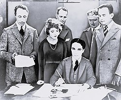 United Artists contract signature 1919.jpg