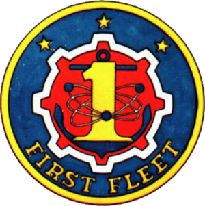 United States First Fleet - Image: United States First Fleet insignia 1970