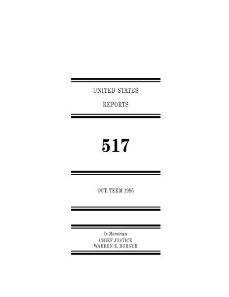 File:United States Reports, Volume 517.djvu