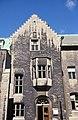 Université McGill, Pathology Building, 3775, rue University, Montréal façade, section de l'entrée, pierre 11-d.na.civile-91-898.jpg
