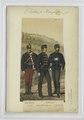 Unteroffizier (Parade); Officier (Somer-Attile u. Salonhose; Stalladjustrg.). 1874 (NYPL b14896507-90703).tiff