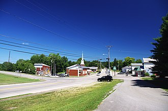 Upton, Kentucky - U.S. Route 31W in Upton